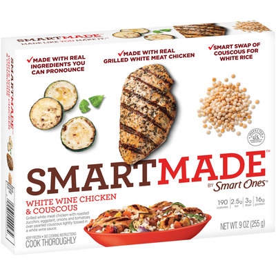 SmartMade™ by Smart Ones® White Wine Chicken & Couscous