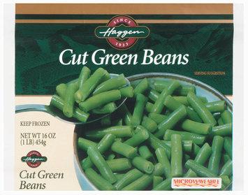 Haggen Cut Green Beans 16 Oz Bag