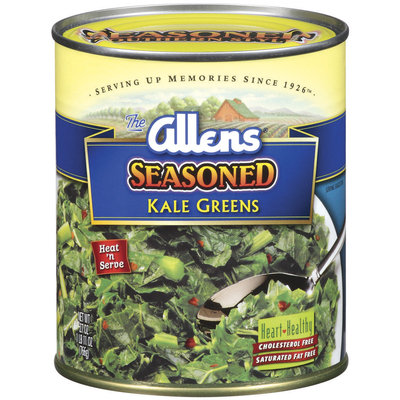 The Allens Seasoned Kale Greens 27 Oz Can