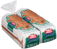 Aunt Hattie's® Homestyle White Enriched Bread 2-24 oz. Loaves