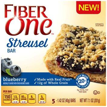 Fiber One™ Blueberry Streusel Bars