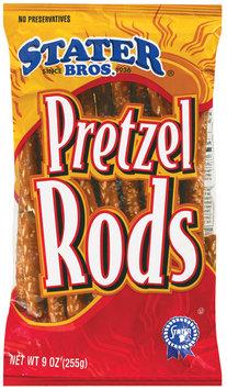 Stater Bros.  Pretzel Rods 9 Oz Bag