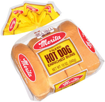 Merita® Hot Dog Buns 12 oz. Bag