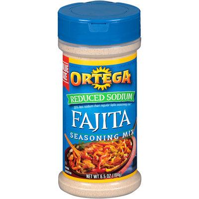 Ortega® Reduced Sodium Fajita Seasoning Mix 6.5 oz. Shaker