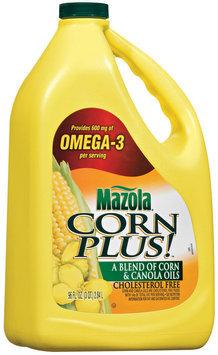 Mazola Blend of Corn & Canola Oils 100% Pure Corn Plus! 96 Oz Jug