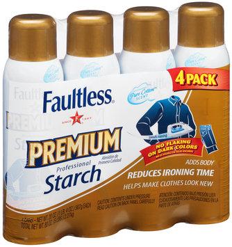 Faultless® Premium Professional Starch 4-20 oz. Cans