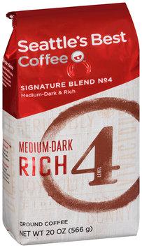 Seattle's Best Coffee® Medium-Dark & Rich Signature Blend No. 4 Ground Coffee 20 oz. Bag