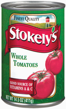 Stokely's Whole Tomatoes 14.5 Oz Can
