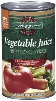 Haggen Vegetable Juice 46 Oz Can