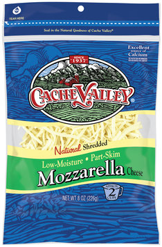 Cache Valley® Natural Shredded Mozzarella Cheese 8 oz. Bag