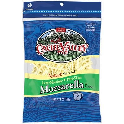 Cache Valley® Natural Shredded Mozzarella Cheese 8 oz. Bag
