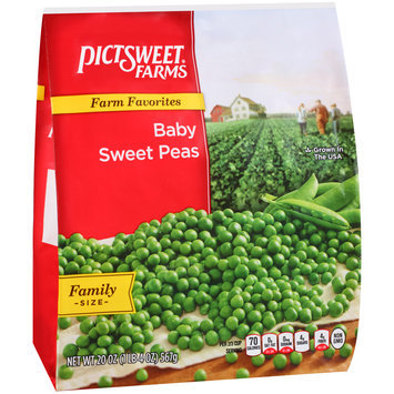 Pictsweet Farms® Farm Favorites Baby Sweet Peas 20 oz. Stand Up Bag
