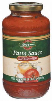 Haggen Flavored W/Meat Pasta Sauce 30 Oz Jar