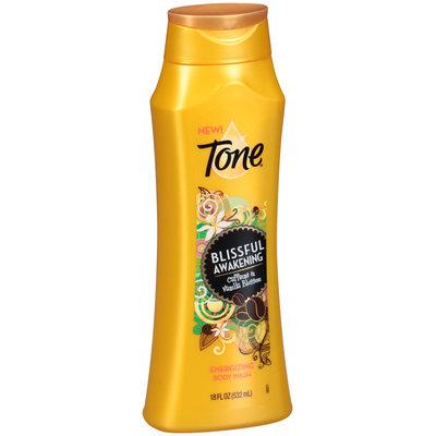 Tone® Blissful Awakening Caffeine & Vanilla Blossom Energizing Body Wash 18 fl. oz. Bottle