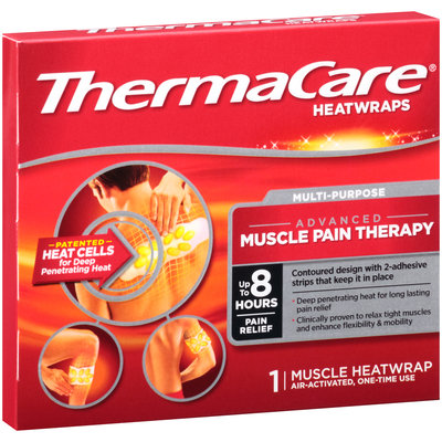 ThermaCare Multi-Purpose Advanced Muscle Pain Therapy Heatwraps Box