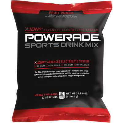 Powerade® Ion4® Fruit Punch Sports Drink Mix