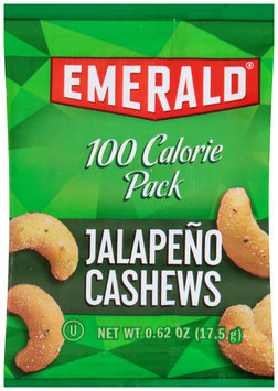 Emerald® 100 Calorie Pack Jalapeno Cashews 0.62 oz Bag