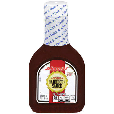 Schnucks® Sweet & Tangy Original Barbecue Sauce 18 oz. Bottle