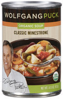 Wolfgang Puck® Organic Soup Classic Minestrone 14.5 oz Can