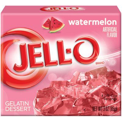 Jell-O Watermelon Gelatin Dessert 3 Oz Box