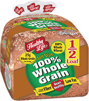 Healthy Life® Soft Style 100% Whole Grain Bread 12 oz. 1/2 Loaf