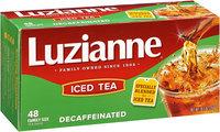 Luzianne® Decaffeinated Iced Tea Family Size 48 ct. Bag.