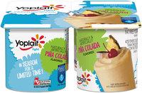 Yoplait® Light Pina Colada Flavored Fat Free Yogurt