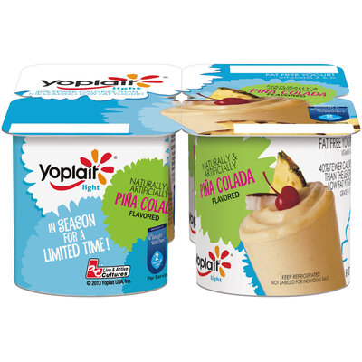 Yoplait® Light Pina Colada Flavored Fat Free Yogurt