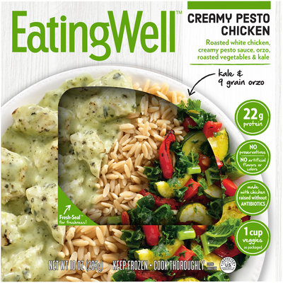 Eating Well™ Creamy Pesto Chicken 10 oz. Box
