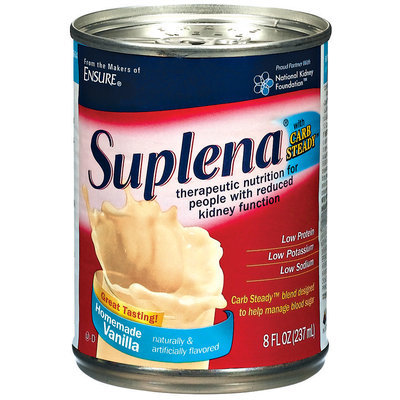 Suplena® Vanilla Therapeutic Nutritional Shake 8 fl. oz. Can