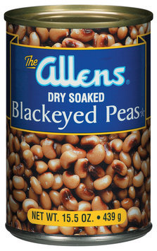 The Allens Dry Soaked Blackeyed Peas 15.5 Oz Can