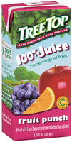 Tree Top® 100% Juice Fruit Punch 6.75 fl oz 3 ct Aseptic Pack