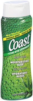 Coast® Emerald Burst Body Wash with Moisturizing Aloe 13.5 fl. oz. Bottle