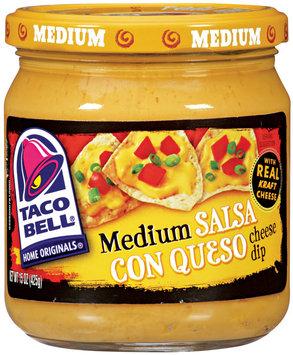 Taco Bell® Medium Salsa Con Queso 15 Oz Jar