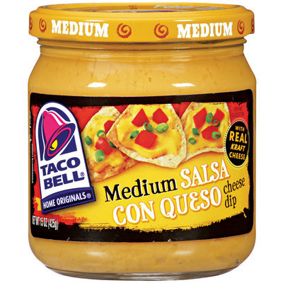 Taco Bell® Medium Salsa Con Queso 15 Oz Jar