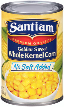 Santiam® No Salt Added Golden Sweet Whole Kernel Corn 15 oz. Can
