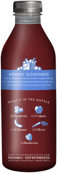 True Grimmway Farms™ Organic Blended Blue™ Juice 28 fl. oz. Bottle