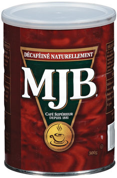 MJB Naturally Decaffeinated Canadian - Coffee 10.5 Oz Canister