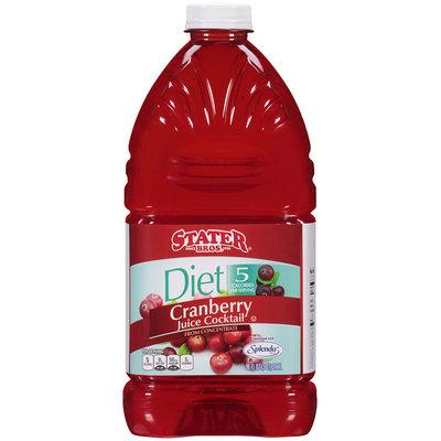 Stater Bros.® Diet Cranberry Juice Cocktail 96 fl oz. Plastic Bottle