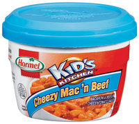 HORMEL KID'S KITCHEN  Microwave Cup Cheezy Mac 'n Beef 7.5 OZ CUP