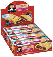 Quaker® Life Less Sugar Mixed Berry Cereal Bars