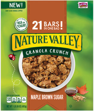 Nature Valley® Maple Brown Sugar Granola Crunch 16 oz. Pouch
