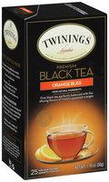 Twinings® Black Tea Orange Bliss Tea Bags