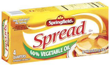 Springfield 60% Vegetable Oil Spread 16 Oz Box