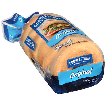 Cobblestone Bread Co.™ Original Bagels 20 oz. Bag