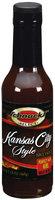 Schnucks Kansas City Style BBQ Sauce 5.8 Oz Glass Bottle