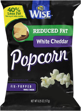 Wise® Reduced Fat White Cheddar Popcorn 6.25 oz. Bag