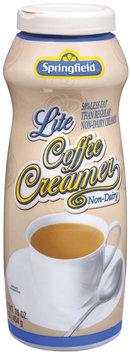 Springfield Lite Non-Dairy Coffee Creamer 16 Oz Pour Spout