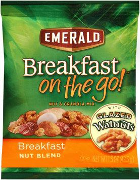 Emerald® Breakfast on the Go!™ Breakfast Nut Blend Nut & Granola Mix 1.5 oz. Bag