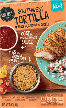 The Good Table™ Southwest Tortilla Sauce & Crust Mix for Chicken 7 oz. Box